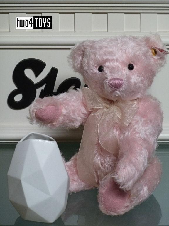 2018 Steiff 006760 Rose Teddy Bear With Rosenthal Two4toys