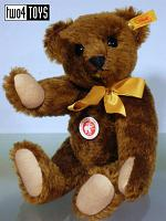 Steiff 000447 CLASSIC TEDDY BEAR WITH GROWLER 1999