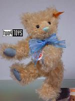 Steiff 001819 CLASSIC TEDDY BEAR WITH BLUE BOW