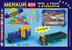 Merkur 00313 M 031 RAILWAY MODELS METAL CONSTRUCTION SET