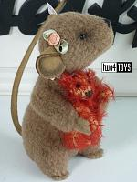 2021 Steiff 006142 XENIA MOUSE WITH TEDDY BEAR