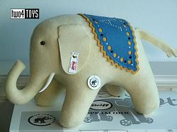 "2020 Steiff 006173 ""LITTLE"" WHITE FELT ELEPHANT 140 YRS JUBILEE"