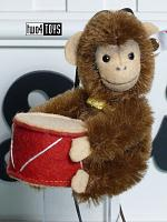 Steiff 006340 JOCKO MONKEY MINI ORNAMENT MOHAIR 2018