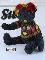 2019 Steiff 006555 DESIGNER'S CHOICE FRIDA TEDDY BEAR