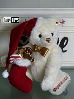 Steiff 006562 SWEET SANTA TEDDY BEAR 2018