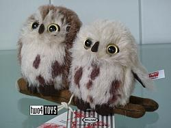 Steiff 006609 PAIR OF OWLS SET 2019