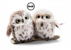 2019 Steiff 006609 PAIR OF OWLS SET