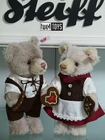 2018 Steiff 006647 HANSEL AND GRETEL TEDDY BEAR SET