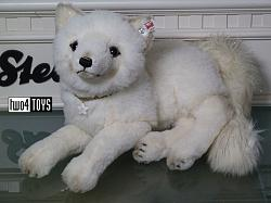 2018 Fall Steiff 006661 WINTER FOX ALPACA WITH SWAROVSKI CRYSTAL