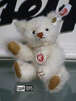 Steiff 006692 MINI TEDDY BEAR 1906 WHITE MOHAIR 2018