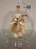 2017 Fall Steiff 006739 GABRIEL TEDDY BEAR IN BAUBLE ORNAMENT