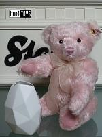 Steiff 006760 ROSE TEDDY BEAR WITH ROSENTHAL VASE 2018