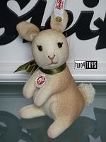 2018 Steiff 006784 MINI RABBIT LIGHT BROWN TREVIRA VELVET