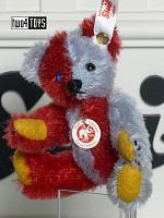 2018 Fall Steiff 006791 HARLEKIN 1925 MINI TEDDY BEAR
