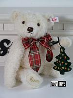 2020 Steiff 006906 CHRISTMAS TEDDY BEAR WITH MUSIC BOX