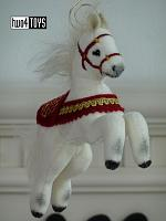 2020 Steiff 006920 CHRISTMAS HORSE ORNAMENT