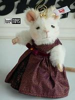 2020 Steiff 006951 MOUSE QUEEN ORNAMENT