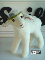 2021 Steiff 007019 LIA LAMB WHITE WOOL PLUSH