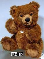 Steiff 010651 GRIZZLY TED TEDDY BEAR