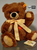 Steiff 013348 TEDDY BEAR BOBBY FULLY JOINTED SOFT PLUSH 2004