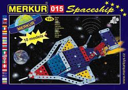 Merkur 01556 M 015 SPACE SHIP METAL CONSTRUCTION SET