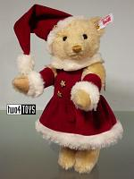 Steiff 021381 MRS. SANTA CLAUS CHRISTMAS TEDDY BEAR 2015