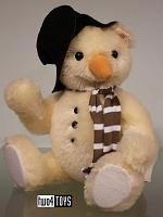 Steiff 021718 MONTY THE SNOWMAN TEDDY