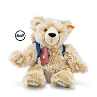 2017 Steiff 022166 LARS THE GLOBETROTTING TEDDY BEAR