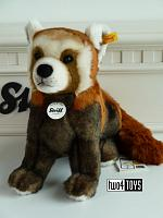 2020 Steiff 024443 NATIONAL GEOGRAPHIC BENDI RED PANDA