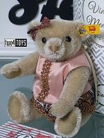 2018 Fall Steiff 026850 VINTAGE MEMORIES TESS TEDDY BEAR