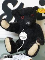 Steiff 029011 MINIATURE 1912 BLACK TEDDY BEAR 2002