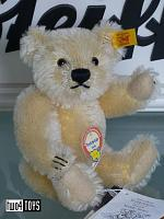 Steiff 029042 MINIATURE 1949 BLOND TEDDY BEAR 2002
