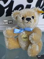 Steiff 029851 MINIATURE CLASSIC TEDDY BEAR BLOND 2002