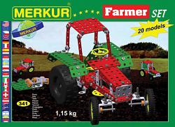 Merkur 03321 FARMER METAL CONSTRUCTION SET
