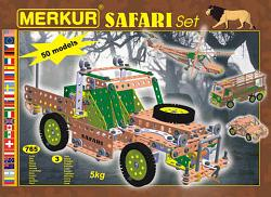 Merkur 03369 SAFARI METAL CONSTRUCTION SET