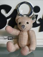 Steiff 034008 SELECTION KEYRING TEDDY BEAR AMELIA PARADISE