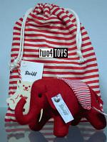 Steiff 035814 SELECTION FELT ELEPHANT RED