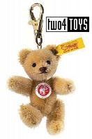 Steiff 039089 MINI TEDDY WHEAT BLOND MOHAIR KEY RING