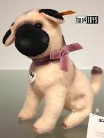 2016 Fall Steiff 045035 LITTLE LIELOU MINIATURE PUG DOG