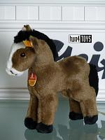 Steiff 052194 SMALL BROWN HORSE CUDDLY SOFT PLUSH 2007