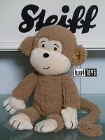 2018 Steiff 060304 SOFT CUDDLY FRIENDS BROWNIE MONKEY MEDIUM