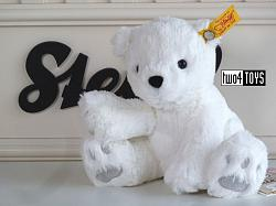 2021 Steiff 062629 SOFT CUDDLY FRIENDS LASSE POLAR BEAR 2019