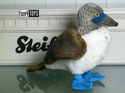 2018 Fall Steiff 063749 BOOBY BLUE-FOOTED BOOBY BIRD