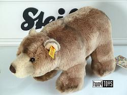 2021 Steiff 069420 BACK IN TIME BEARLIE BROWN BEAR 2019