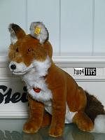 Steiff 070266 SNORRY FOX CUDDLY SOFT PLUSH 2000