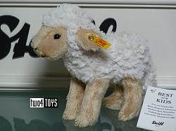 2018 Steiff 073090 FLOCKY LAMB SOFT PLUSH