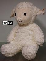 2017 Fall Steiff 073434 SOFT CUDDLY FRIENDS FUZZY LAMB LARGE
