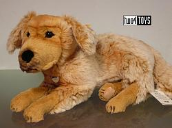 2017 Fall Steiff 076947 ANDOR GOLDEN RETRIEVER DOG SOFT PLUSH