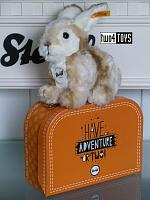 2018 Steiff 080449 MELLY RABBIT IN SUITCASE