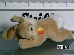 Steiff 082214 HOPPY LYING DOWN RABBIT CUDDLY SOFT PLUSH 2003